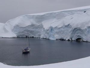 Melchior, premier mouillage antarctique