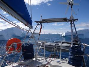 Barrière d'icebergs - Cuverville Island - Antarctique