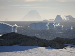 Icebergs rongés par l'océan - Vernadsky - Argentine Islands - Antarctique