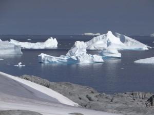 A l'entrée du mouillage - Hovgaard Island - Antarctique