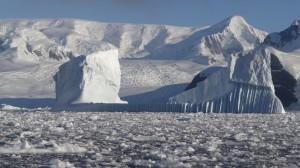 Galère de glace dans le brash - Cimetière d'Icebergs - Hovgaard Island