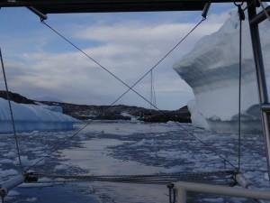 Adieu au Grand Sud ! L'heure du départ a sonné - Port Charcot - Booth Island - Antarctique 19 février 2013