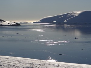 Vue sur Anvers Island depuis Dorian Bay - Neumayer Channel - Antarctique