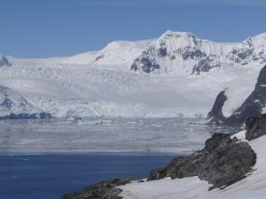 Glaciers de la Péninsule Antarctique - vu de Hovgaard Island - Antarctique