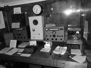 Salle radio - ancienne base de Port Lockroy, Wiencke Island, Antarctique