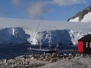 Goudier Island, Port Lockroy, Antarctique