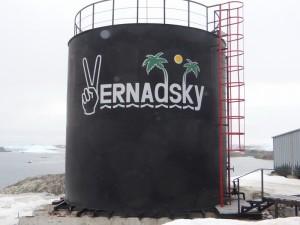 L'humour ukrainien n'a pas été très apprécié de leurs autorités ... Argentine Islands, Antarctique