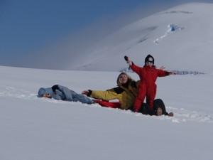 Au 2è sommet de Hovgaard, Antarctique
