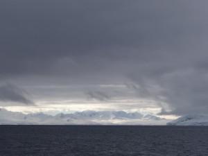Au loin, Anvers Island, Antarctique