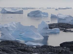 A la sortie du mouillage - Hovgaard Island, Antarctique