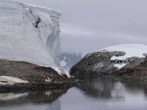 Glacier à coté de Stella Creek, Argentine Islands, Antarctique