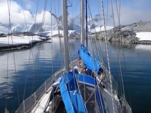 De retour au mouillage de Hovgaard - Antarctique
