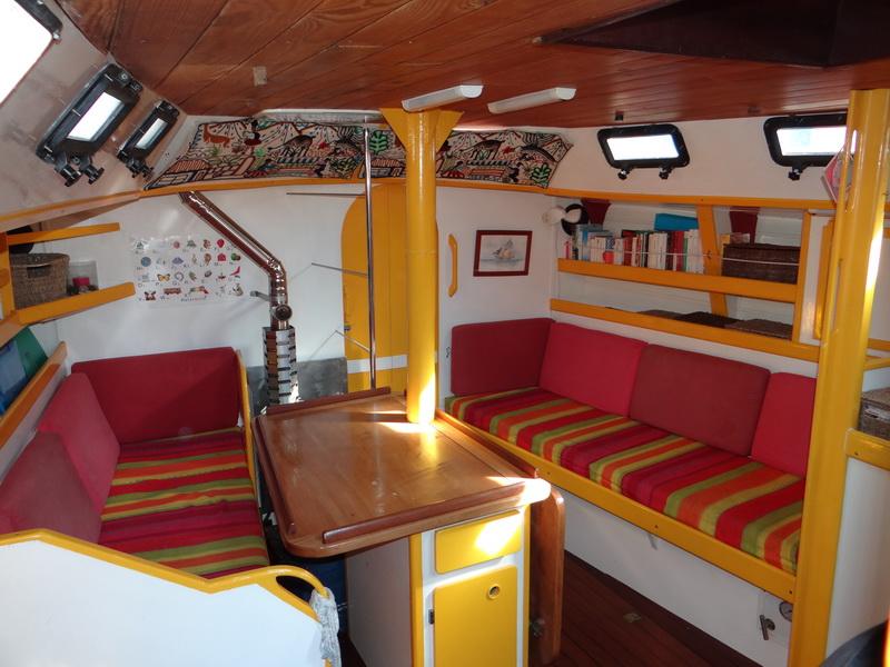 petit prince un ketch en acier shoup de 13 m le petit prince en orbite autour de la mer. Black Bedroom Furniture Sets. Home Design Ideas