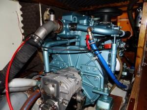 Le Petit Prince - moteur Perkins M65 (2)
